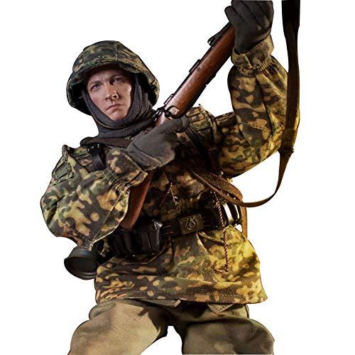 1/6 Zweiter Weltkrieg Soldat Modell Militär Figuren Statuen Nachbildungen Sammel Kinder Und...
