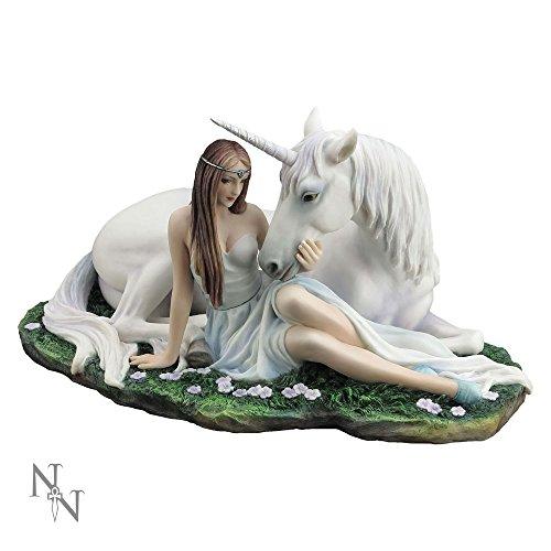 Nemesis Now Pure Heart Anne Stokes Figur aus Kunstharz, 27 cm, Weiß