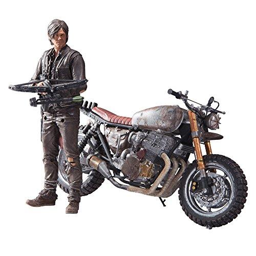 The Walking Dead ActionfigurDaryl Dixon mit Motorrad
