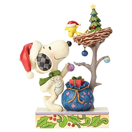 Heartwood Creek Tis The Season (Snoopy & Woodstock)