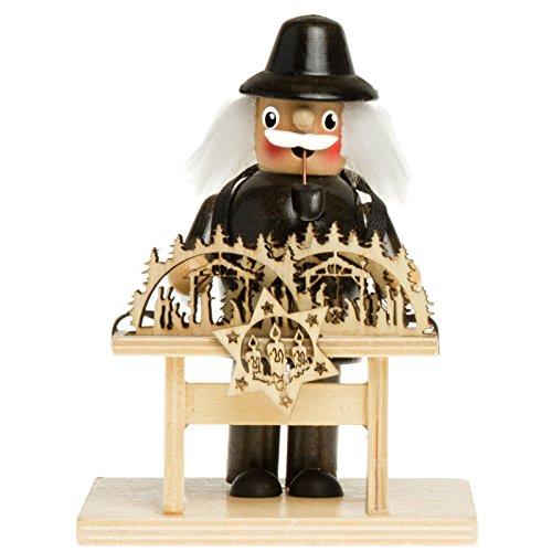 Sikora RM-C Räuchermännchen aus Holz Verschiedene Motive, Größe:Höhe ca. 13.5 cm,...