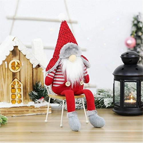 Ansenesna Wichtel Figuren Stehend Weihnachts Stoff Zwerge Weihnachten Schmuck Deko Niedlich...