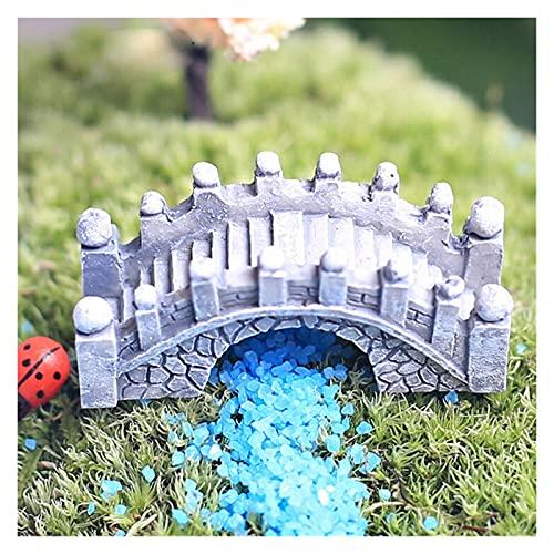 Yyoutop Nette Dorfhaus Miniaturgarten Mini Handwerk Figur Ploch Topf Garten Ornament Miniatur Fairy...