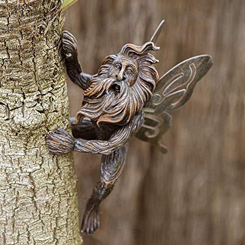 garden mile® Fairy Garden Skulpturen, Kunstharz, Ornamente für den Garten, Statuen, Hof,...