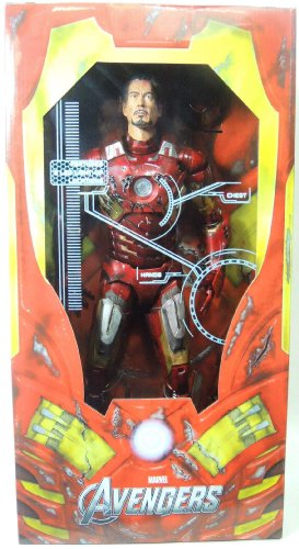 Neca Avengers Iron Man Battle Damage 1/4 Scale 45cm Fig