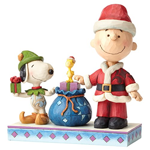 Enesco Holiday Helpers (Charlie Brown & Snoopy)