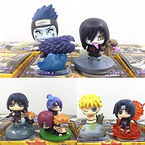 HHLLZP Anime Skulptur Naruto Konoha Renegade Ninja Unglück Wind Oshemaru Modell Fall Dekoration...