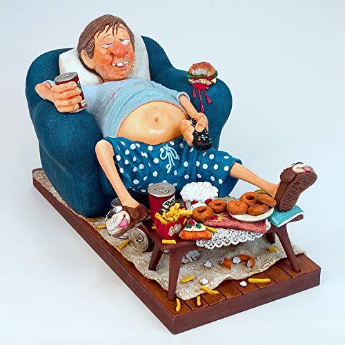 Guillermo Forchino - The Couch Potato - Skulptur in Comic Art FO85506 Figur Handwerkskunst...