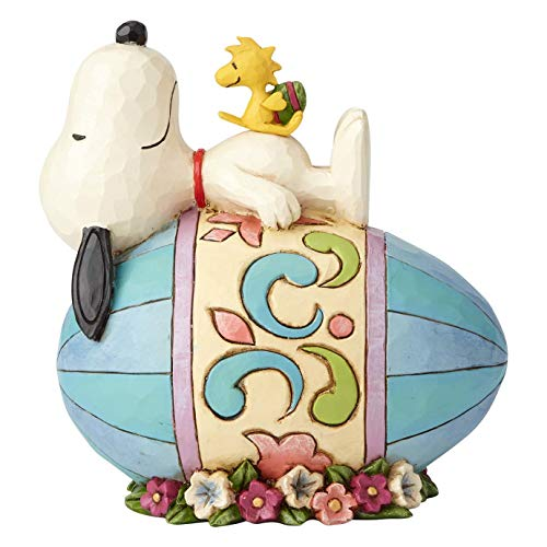 ENESCO Peanuts by Jim Shore Snoopy and Woodstock Figur, Bunt, 5 Inch
