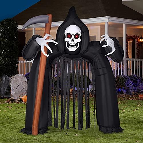10,26 Ft Halloween Aufblasbar, EBANKU Halloween Deko Aufblasbarer Bogen Halloween Blow Up Outdoor...