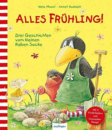 Alles Frühling!: Drei Geschichten vom kleinen Raben Socke (Der kleine Rabe Socke)