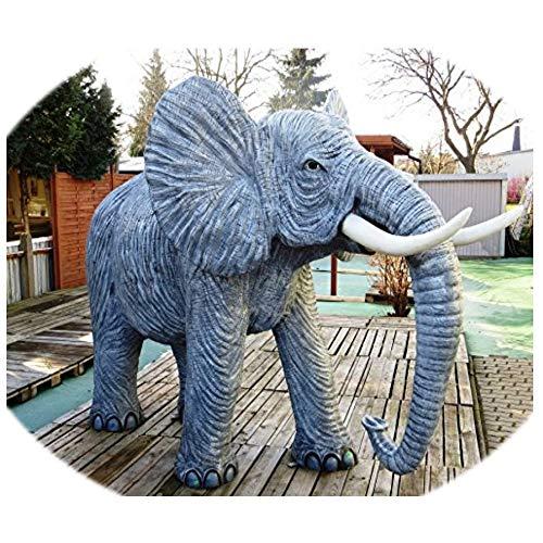 XXL Elefant Deluxe Gartendeko~330cm~LEBENSGROSS~Gartendekoration*GARTENFIGUR~Wow
