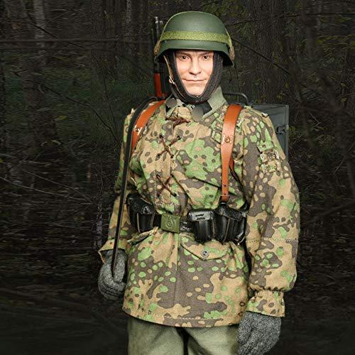 1/6 Soldat Action Figuren Militär Modell Statuen Kinderspielfiguren Nachbildungen Sammel...