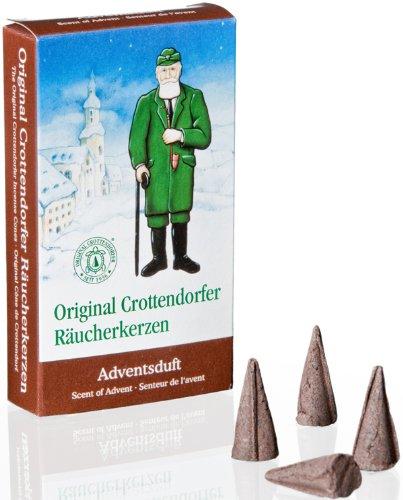 Räucherkerzen Räucherduft Crottendorfer Adventsduft 24 Räucherkerzen Erzgebirge NEU