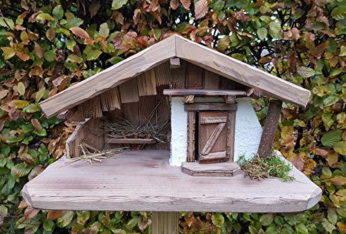 Garten und Holztrends Weihnachtskrippe Krippe Krippenstall (W016) Weihnachten Weihnachtskrippen...