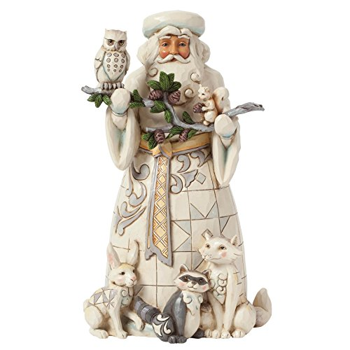 Heartwood Creek Woodland Santa Figurine