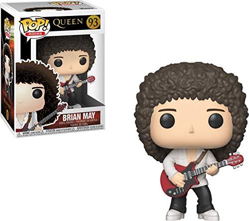 Funko 33720 POP Vinyl: Rocks: Queen: Brian May Action Figur, Multi, Standard