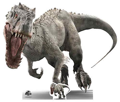 Star Cutouts SC1295 Offizieller Indominus (Face on Roar) Jurassic World Dinosaurier Pappaufsteller...