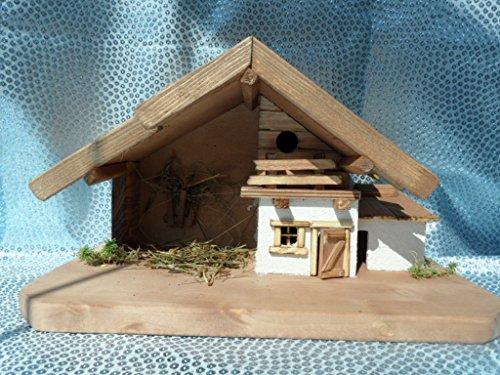 Arbrikadrex Verschiedene Weihnachtskrippen Holz Schreinerarbeit Douglasienholz Handarbeit Krippe mit...