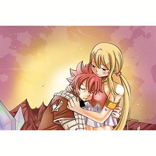 FENGZI Fairy Tail Dragon Nuts und Lucy Erwachsene Puzzle 300/500/1000 Friedenskinder Puzzlespiel...
