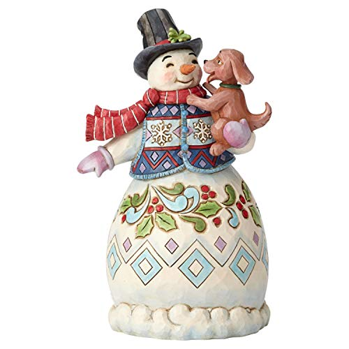 Heartwood Creek Warm Wishes and Puppy Dog Kisses Figurine