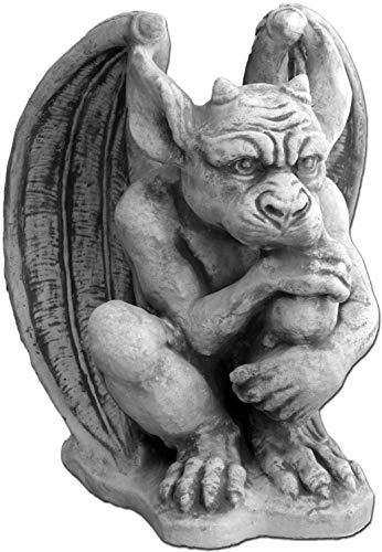 gartendekoparadies.de Große Massive Steinfigur Gargoyle - Der Wächter aus Sfteinguss frostfest