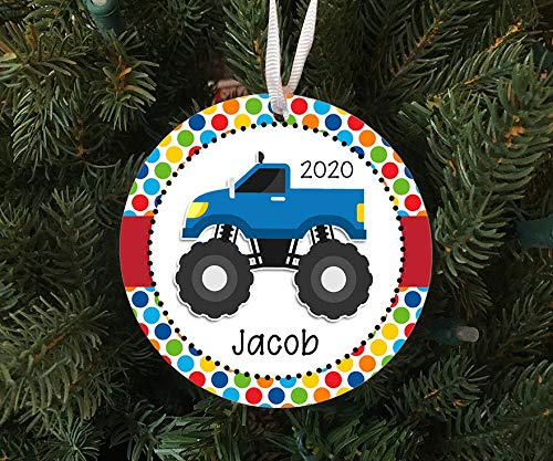 Lplpol Personalisierbares Monster-Truck-Ornament – 2020