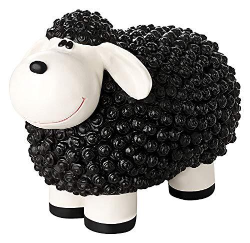 incubado Mini Schaf Molly Deko-Figur Gartenfigur, Gartendekoration für den Garten Außen-Bereich,...