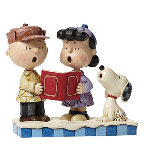 Peanuts von Jim Shore Charlie und Lucy Carolling Figur
