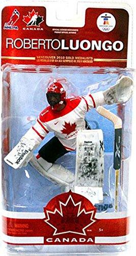McFarlane NHL Figur Team Canada Series II (Roberto Luongo 2)