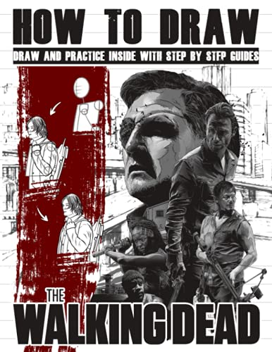 How to Draw The Walking Dead: Figures Simple Anatomy, Characters, Forms The Walking Dead (Drawing...