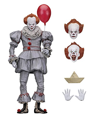 Stephen Kings Es 7' Ultimate Actionfigur Pennywise 2017
