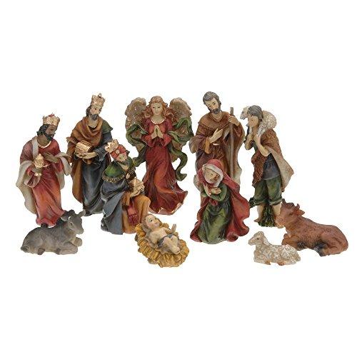 11 Krippenfiguren für Weihnachten