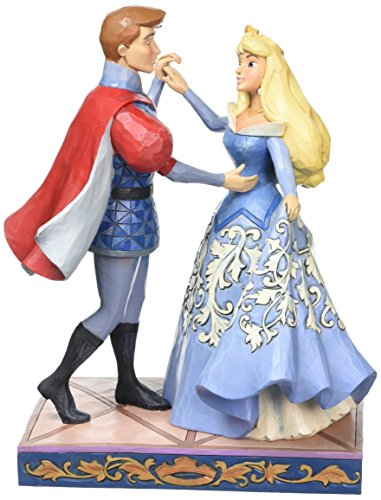 Disney Traditions Swept Up In The Moment - Aurora and Prince Figur
