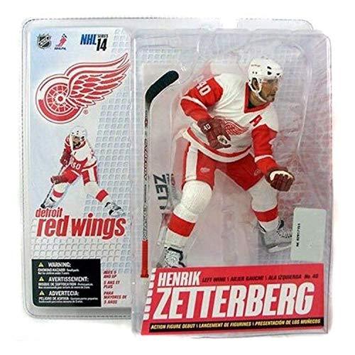McFarlane Toys NHL Sports Picks Series 14 Action Figure Henrik Zetterberg (Detroit Red Wings) White...