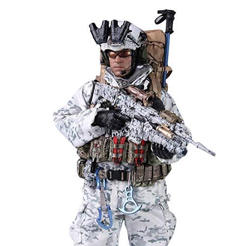 HYZM 1/6 Figur Soldat, 12 Zoll Beweglich Soldaten Modell Militär Figur Actionfiguren Spielzeug -...