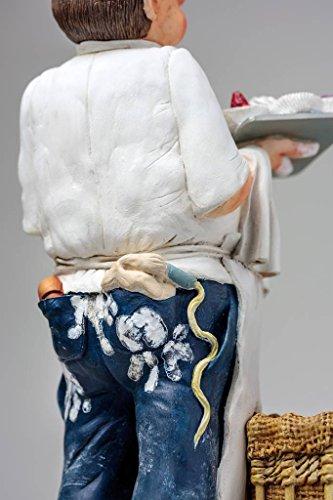 Unbekannt Guillermo Forchino fo85539Figur der Bäcker, Kunstharz, Mehrfarbig, 35x 15x 39cm