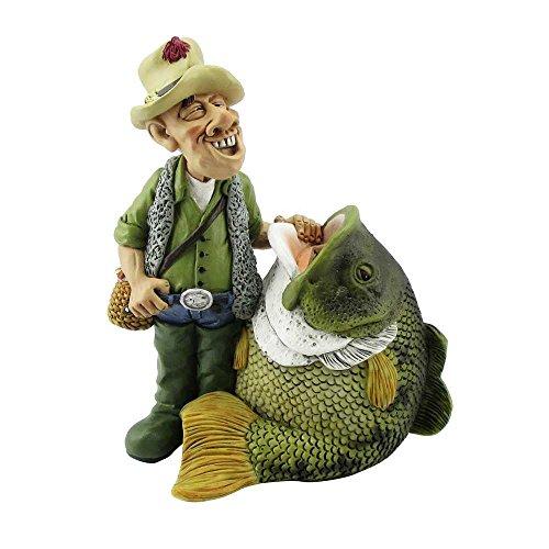 Funny Job Spardose - Anglerlatein - Angler mit Riesenfisch