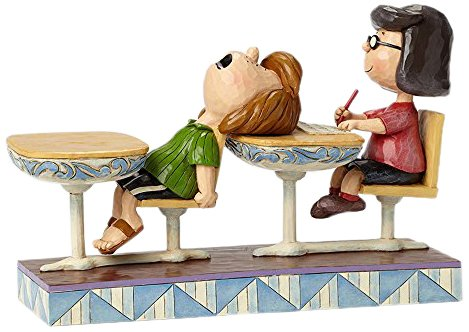 Enesco School Days (Marcie & Peppermint Patty)