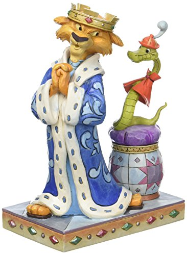 Disney Tradition Royal Pains (Prince John & Sir Hiss Figur)