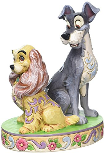 Enesco 4046040 Figur Disney Tradition, Opposites Attract Lady & The Tramp 60th Anniversary, 12,7 x...