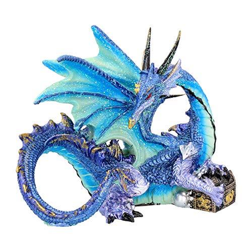 Nemesis Now Figur Piasa, 15 cm, Blau