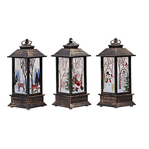 3 Stück Weihnachtskerze mit LED Tee licht Kerzen für Weihnachtsdekoration Teil Auß Hnliche...