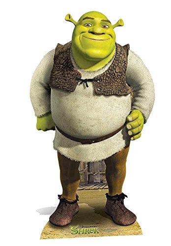 STAR CUTOUTS–stsc785–Figur Riesen–Shrek–DreamWorks–170cm