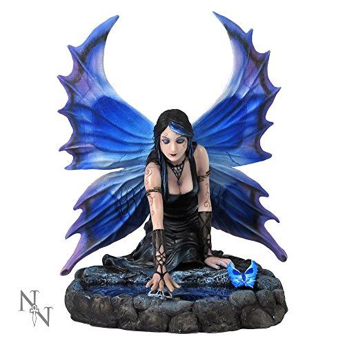 Nemesis Now Figur Immortal Flight 18,4 cm, Kunstharz, Blau, Einheitsgröße