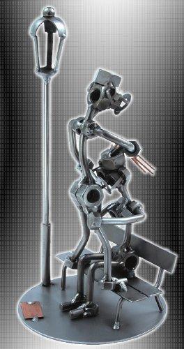 Boystoys HK Design - Sexy Schraubenmännchen 'Erotik-Parkbank' - Metall Art Geschenkideen Deko...