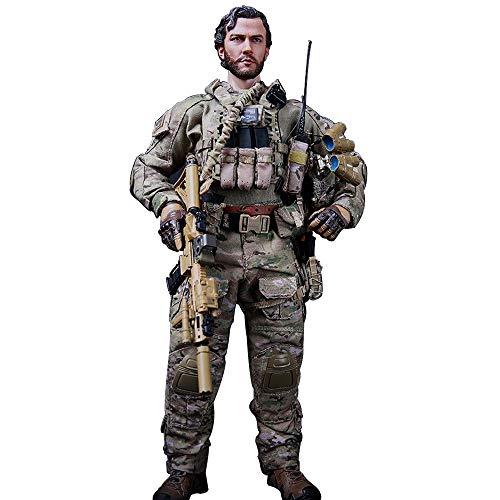 Batop 1/6 Soldat Modell, 12 Zoll US Soldaten Actionfigur Spielzeug Figuren Militär Soldat Model -...