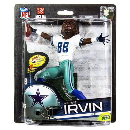 McFarlane Sportspicks: NFL Series 33 Michael Irvin Dallas Cowboys 6 inch - Brozne Variant Action...