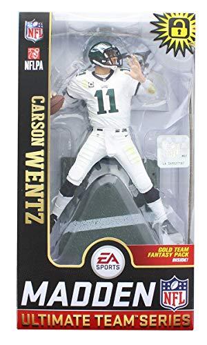 McFarlane Carson Wentz (Philadelphia Eagles) EA Sports Madden NFL 19 Ultimate Team Series 1