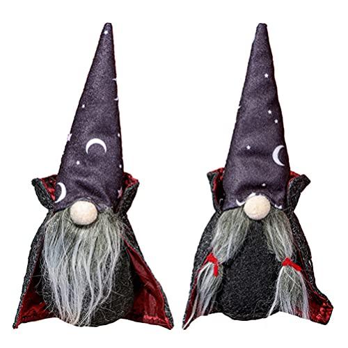SOIMISS Halloween GNOME Figuren Santa Plüsch Puppe Stofftiere Weihnachten Elf Ornamente Tisch...